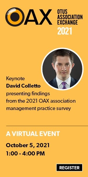 OAX 2021: A Virtual Event. October 5, 2021, 1 To 4 Pm. Register Now