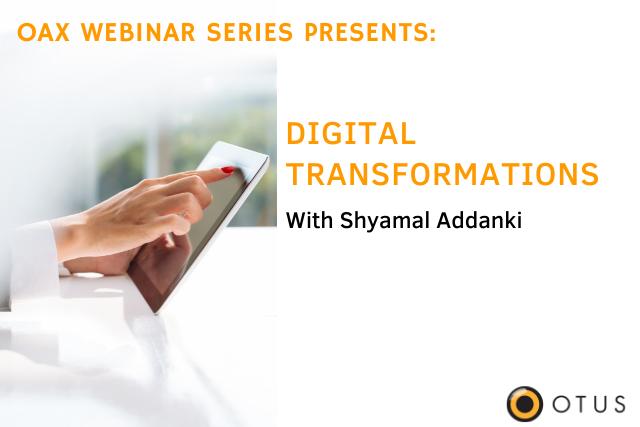 "View webinar video of ""Digital Transformations"""